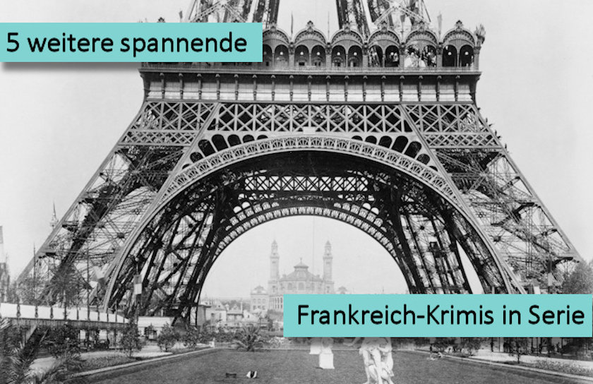 5 weitere spannende Frankreich-Krimis in Serie